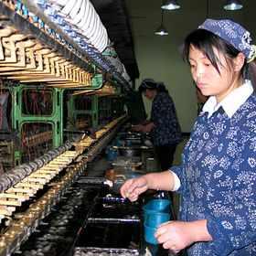 Шелковая фабрика в Хуньчуне