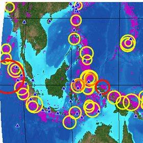 У берегов Индонезии землетрясение и угроза цунами