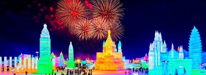 Встреча Нового 2019 Года в Суйфэньхэ