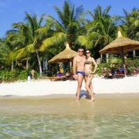 Пляжи Vinpearl - «Тропический рай Вьетнам». Белоснежный песок на пляже