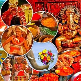 Встреча Нового Года 2019 на Шри-Ланке