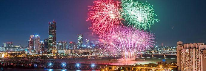 Встречаем Новый 2018 год в Сеуле