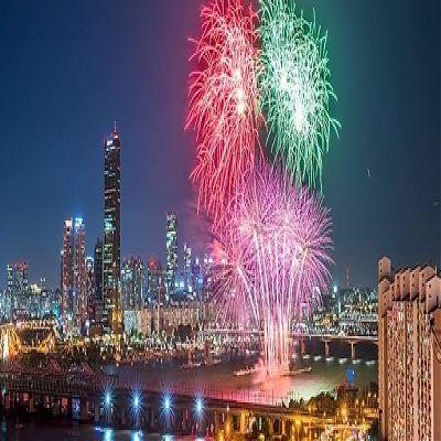 Новый год в Южной Корее (Сеул)