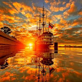 Незабываемые дни на берегах Невы