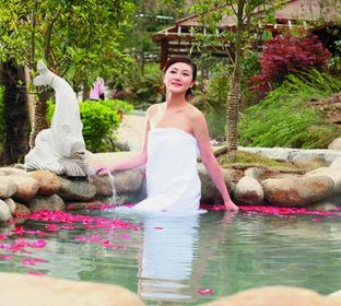 Зимний отдых на горячих источниках и спа - курортах Кореи