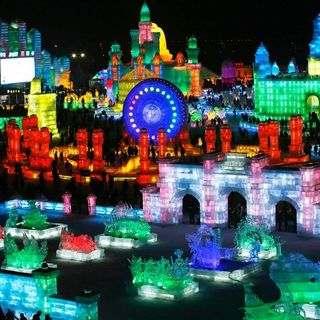 Новогодние и Рождественские туры в Харбин в 2020 году через Суйфэньхэ