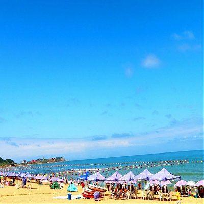 Вэйхай пляж
