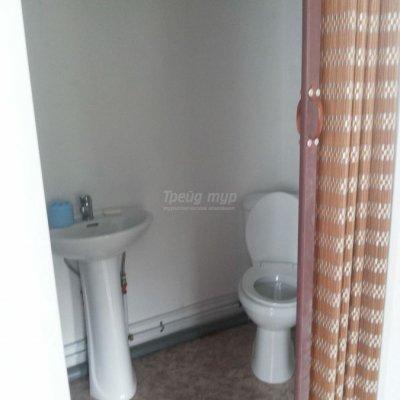 Туалет. Номер «Повышенной комфортности» базы отдыха «Милана»