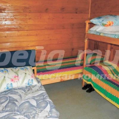 Летние деревянные домики (4 чел. / дом)